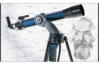 Telescopio Refractor Computarizado Meade Mod.ds102 Con Audio
