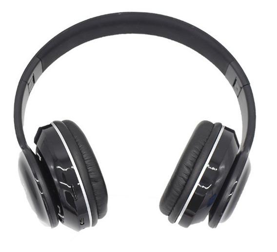 Fone De Ouvido Bluetooth Sd Fm Mp3 Usb 6 Hrs Música Sem Fio