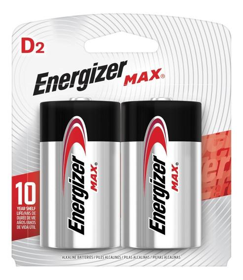 Pila Alcalina D Energizer Blister X2