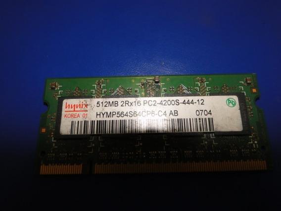 Memoria Hynix Hymp564s64cp6-c4 Ab 512 Mb Pc2-4200 Ddr2-533