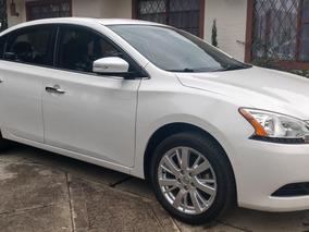 Nissan Sentra B17. Exclusive 2014 Perfecto. Aa. Cuero. Autom