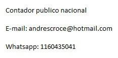 Contador Publico Uba - Precios Accesibles, Iva Arba Convenio