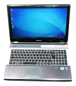 Notebook Samsung Tela Grande, Core I5, Teclado Numerico