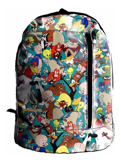 Mochila Sublimada Looney Tunes Vegeta Mpr113
