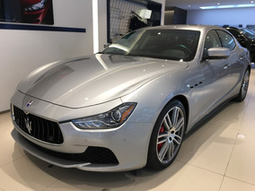 Maserati Ghibli Sq4, Plata, 410cv; 0-100km: 4.8secs