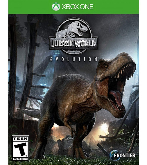 Jurassic World Evolution Xbox One Mídia Física Lacrado
