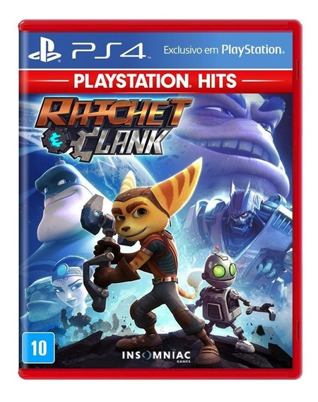Ratchet And Clank Ps4 Mídia Física Lacrado