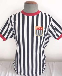 Camisa Seleção Paulista - Retro Original Athleta + Aut
