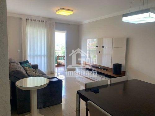 Imagem 1 de 6 de Apartamento Com 3 Dormitórios À Venda, 103 M² Por R$ 465.000 - Jardim Sumaré - Ribeirão Preto/sp - Ap4667