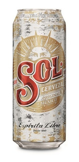 Cerveza Sol Lata 473ml Pack X 6 - Berlin Bebidas