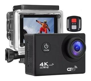 Camara Deportiva 4k 60fps Sensor Sony 16mp Uhd + Accesorios