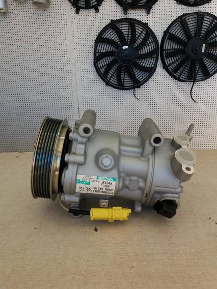 Compressor Ar Condicionado Citroen C4 Sd6c12 Remanufaturado