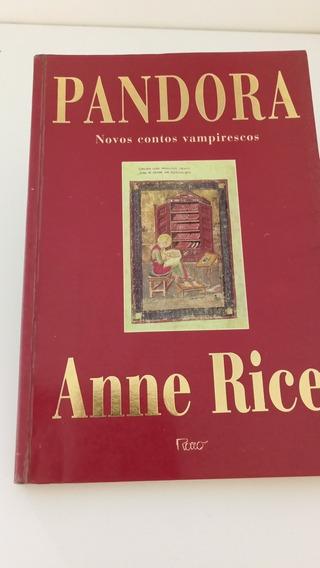 Livro Pandora Novos Contos Vampirescos - Anne Rice