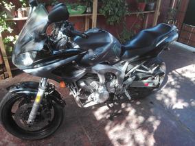 Moto Yamaha Fz6 S Plateada