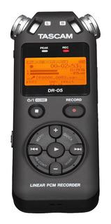 Grabadora Digital De Mano Dr-05 De 2 Pistas Tascam