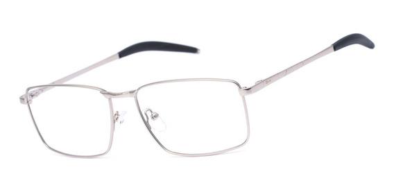 Armação Oculos Ogrife Og 1735-c Masculino Com Lente Sem Grau