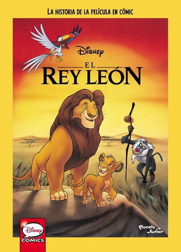 Imagen 1 de 3 de El Rey León. La Historia De La Película En Cómic