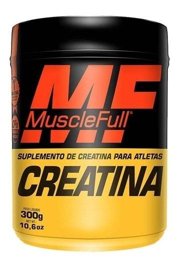 Creatina 300g Muscle Full 0% Corante