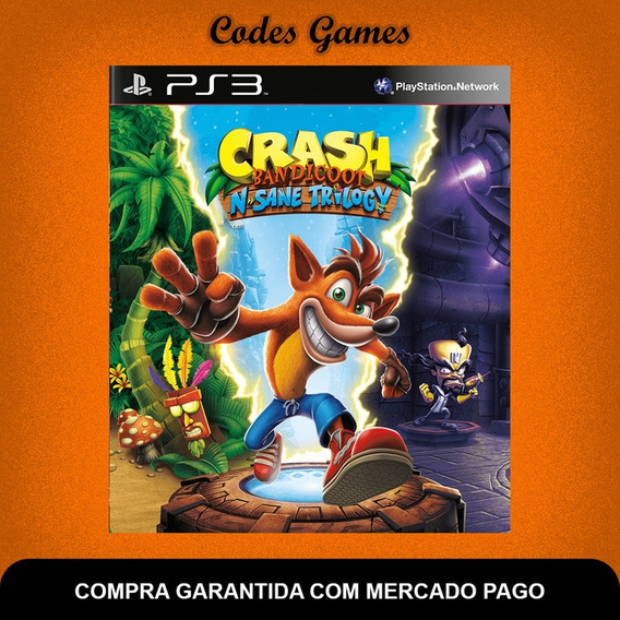 Crash Bandicoot N. Sane Trilogy - Ps3 - Pronta Entrega