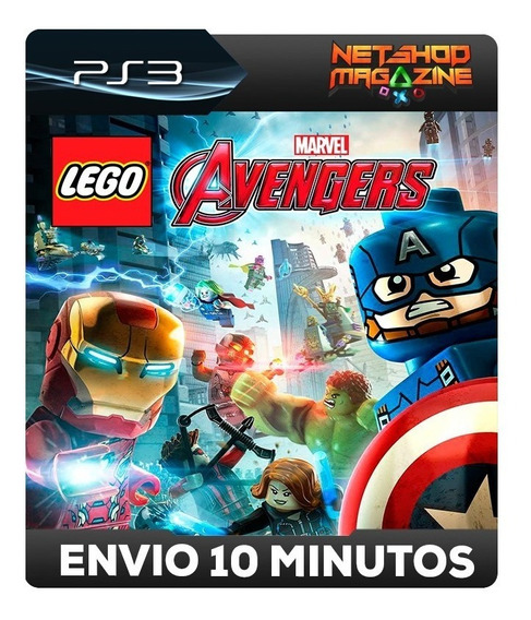 Lego Marvel Avengers - Psn Ps3 - Envio Imediato