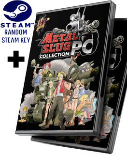 Random Steam Key + Metal Slug La Colección Completa 1 2 3 4 5 6 Y X - Juego Pc Windows + Regalo