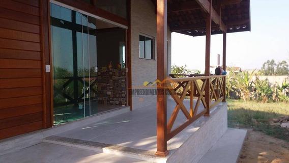 Chácara Com 2 Dormitórios À Venda, 1002 M² Por R$ 380.000,00 - Condomínio Terras De Santa Rosa - Salto/sp - Ch0116