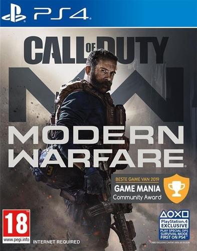 Call Of Duty: Modern Warfare Jogo Ps4 Midia Digital