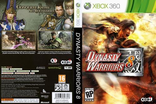 Dynasty Warriors 8 - Xbox 360 - Caixa Lacrada