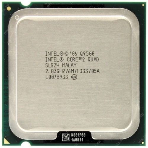 Intel Core 2 Quad Q9500 Lga 775 6mb Cache + Pasta