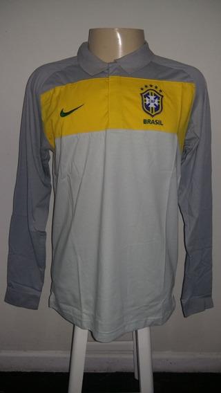 Camisa Polo Seleção Brasileira De Futebol