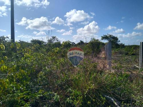 Terreno Em Pium Com 1.350m² - Loteamento São Pedro - Pium - Nisia Floresta - Te0147