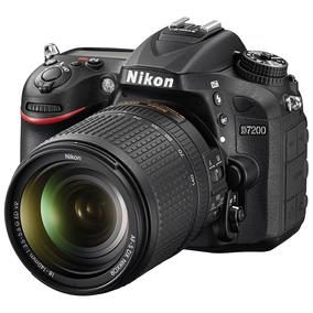 Câmera Nikon D7200 E Af-s Dx 18-140mm F/3.5-5.6g Ed Vr