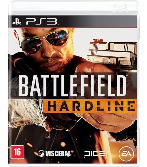 Battlefield Hardline Português Ps3 Midia Fisica Novo Lacrado