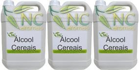 Alcool De Cereais 15l Puro Alcool Cereais 15lt