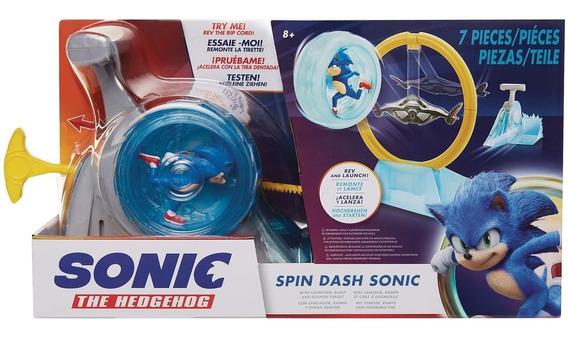 Sonic The Hedgehog Spin Dash Sonic Acelera Y Lanza Pelicula