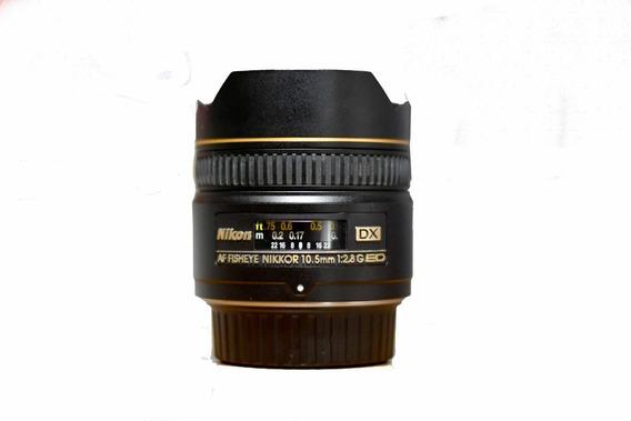 Lente Nikon Fish Eye 10,5 Mm 2.8