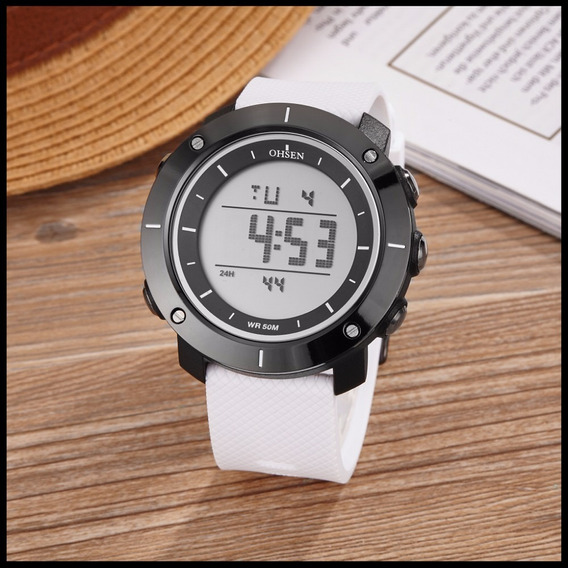 Relógio Ohsen Digital Unissex Esporte Militar