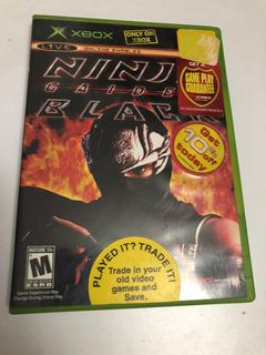 Ninja Gaide Black Xbox Classic