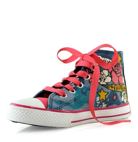 Zapatillas Botitas 8537-98 Estampado Bebes/niños Luminares