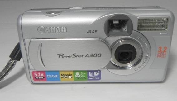 Câmera Fotográfica Canon Power Shot A300 Retirada De Peças
