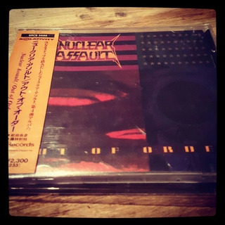 Nuclear Assault Out Of Order Cd Japones