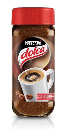 Nescafe Dolca 100g Cafe Instantaneo Sin Grumos Unidad X1