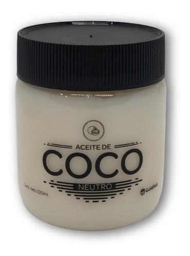Aceite De Coco Neutro Goldfish X 220 Ml Pet