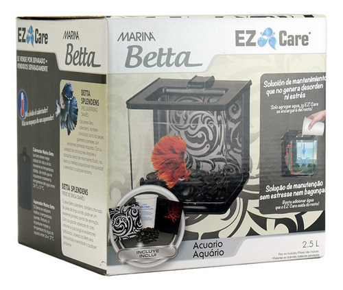 Imagen 1 de 4 de Beta Kit Ez Care Negro (autolimpieza)