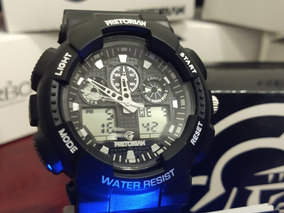 Relógio Estilo G-shock Command Pretorian Wprt-02-3 Nf-e