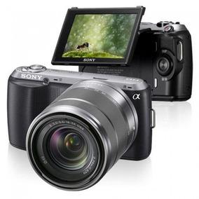 Câmera Semi Profissional Sony Nex-c3 Usada 16.2 Megapixels