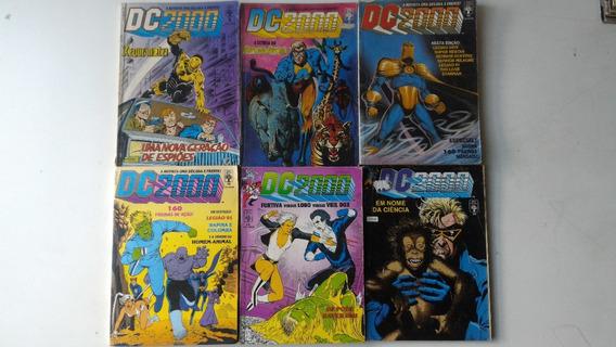 Coleção Dc 2000 Vários Números Gibi Hq Quadrinhos + Brinde