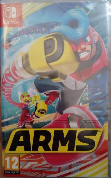 Arms Nintendo Switch Lacrado Envio Imediato