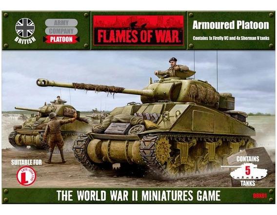 Tanque Sherman - Flames Of War (sem Caixa) War Game 1/100