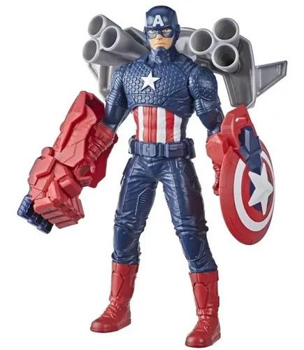 Imagem 1 de 5 de Capitão América Boneco Marvel Avengers Vingadores Hasbro